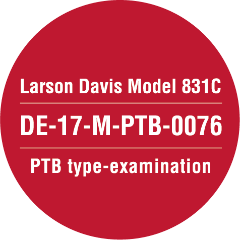 Larson Davis Model 831C PTB Approval