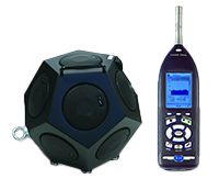 BAS001 with 831 Sound Level Meter
