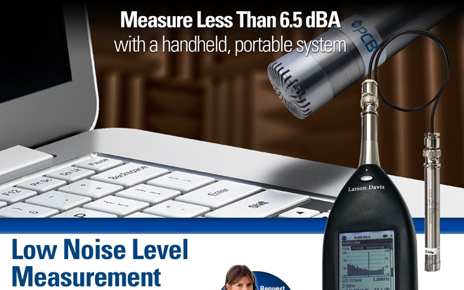 831-LOWN Low Noise Level Measurement