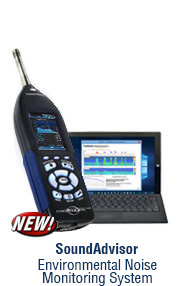 New - SoundAdvisor Environmental Noise Monitoring System