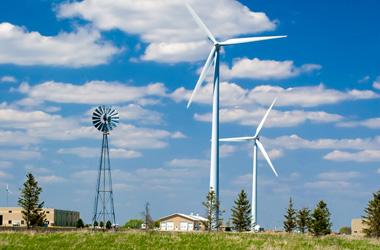 Wind farm environmental noise monitoring