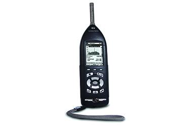 SoundTrack-LxT sound level meter for workplace noise sampling