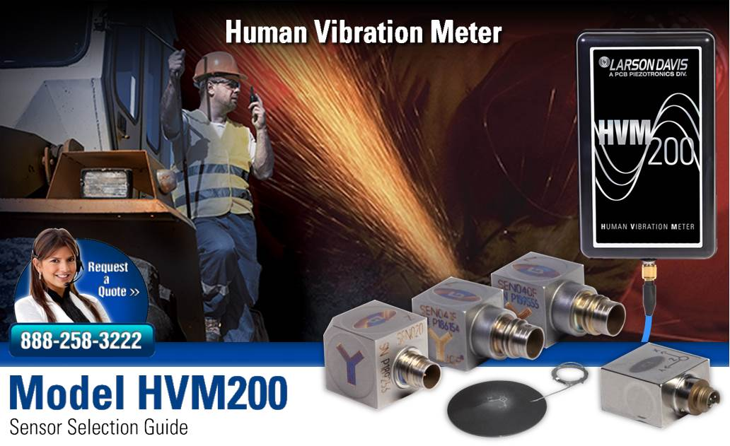 Accelerometers for Human Vibration Measurements