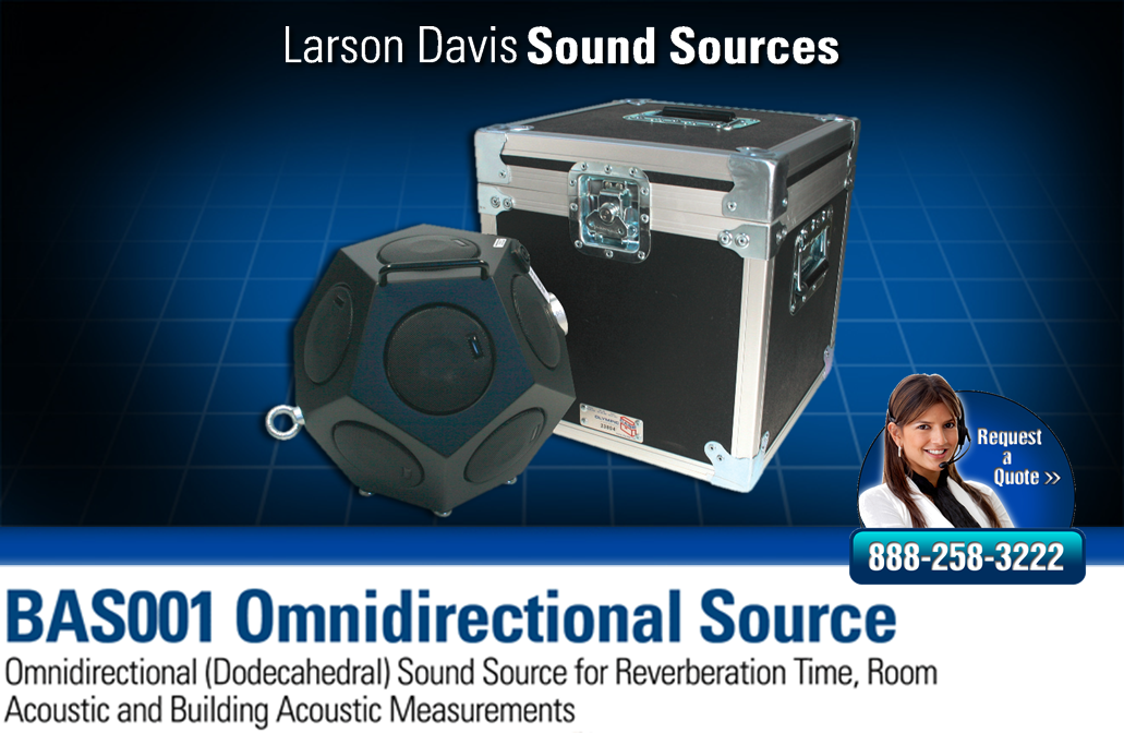 Dodecahedral and Omnidirectional sound source